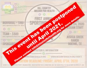 Sporting Clays Postponed